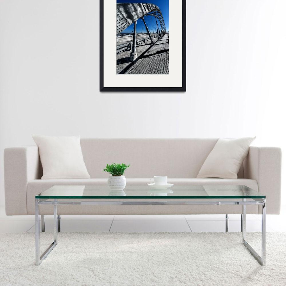 """Champlain Bridge crossing over Lake Champlain&quot  (2014) by New-Yorkled"