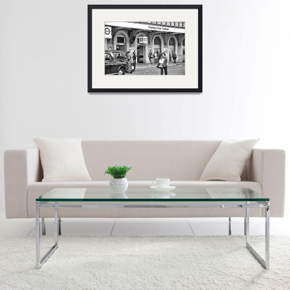 """Charing Cross Station&quot  (2011) by PaulCoco"