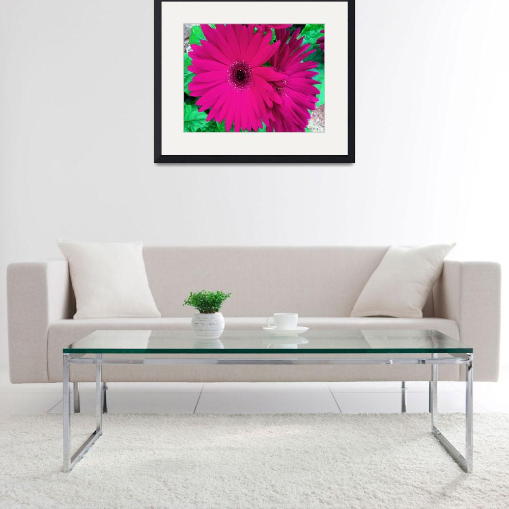 """Still Life Pink Floral 715&quot  (2015) by MasArtStudio"