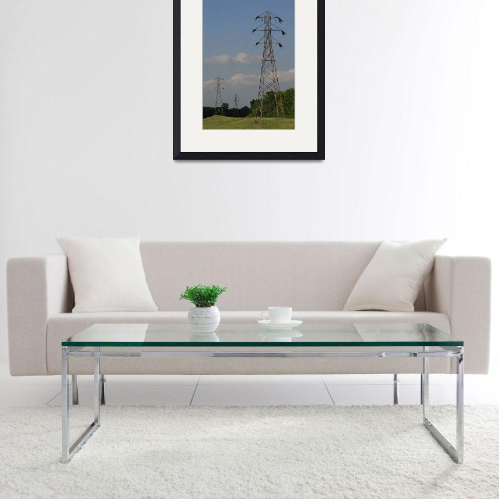 """Topeka-Atchison 66-kV Transmission Line&quot  (2004) by TheElectricOrphanage"