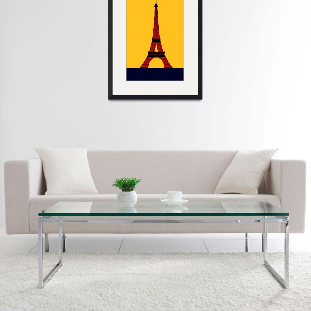 """Inspired by the Eiffel Tower&quot  by Lonvig"