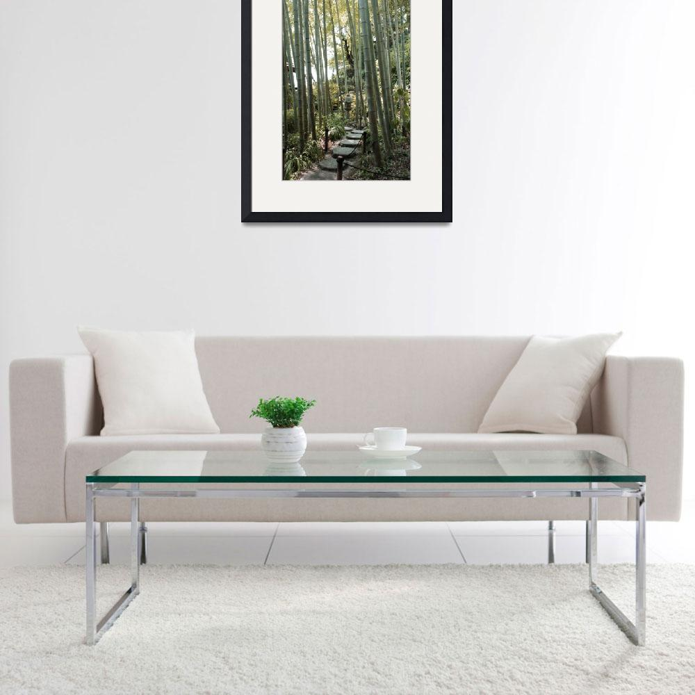 """Bamboo Forest&quot  (2008) by eenabo"