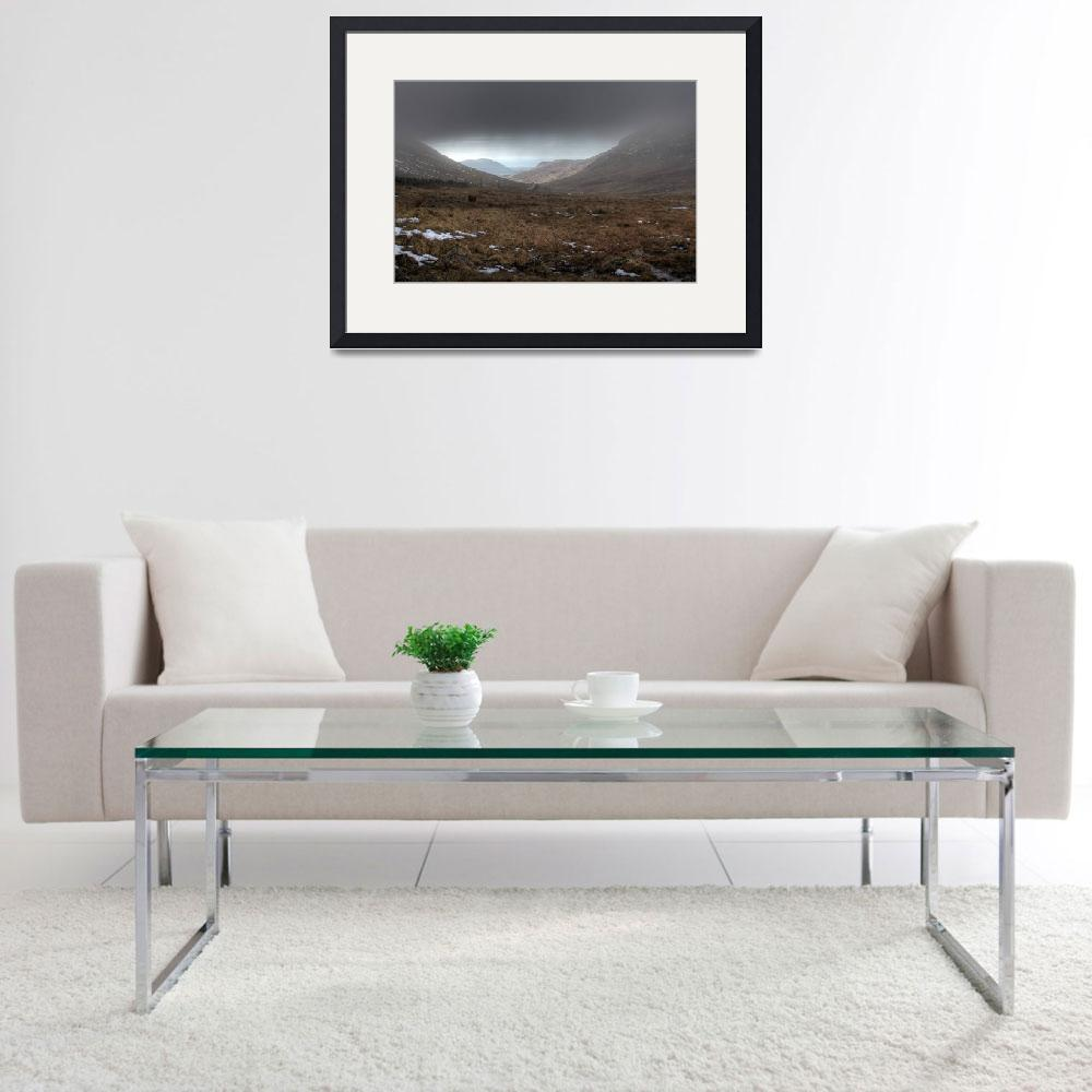 """The Mourne Mountains&quot  (2010) by GlennCartmill"