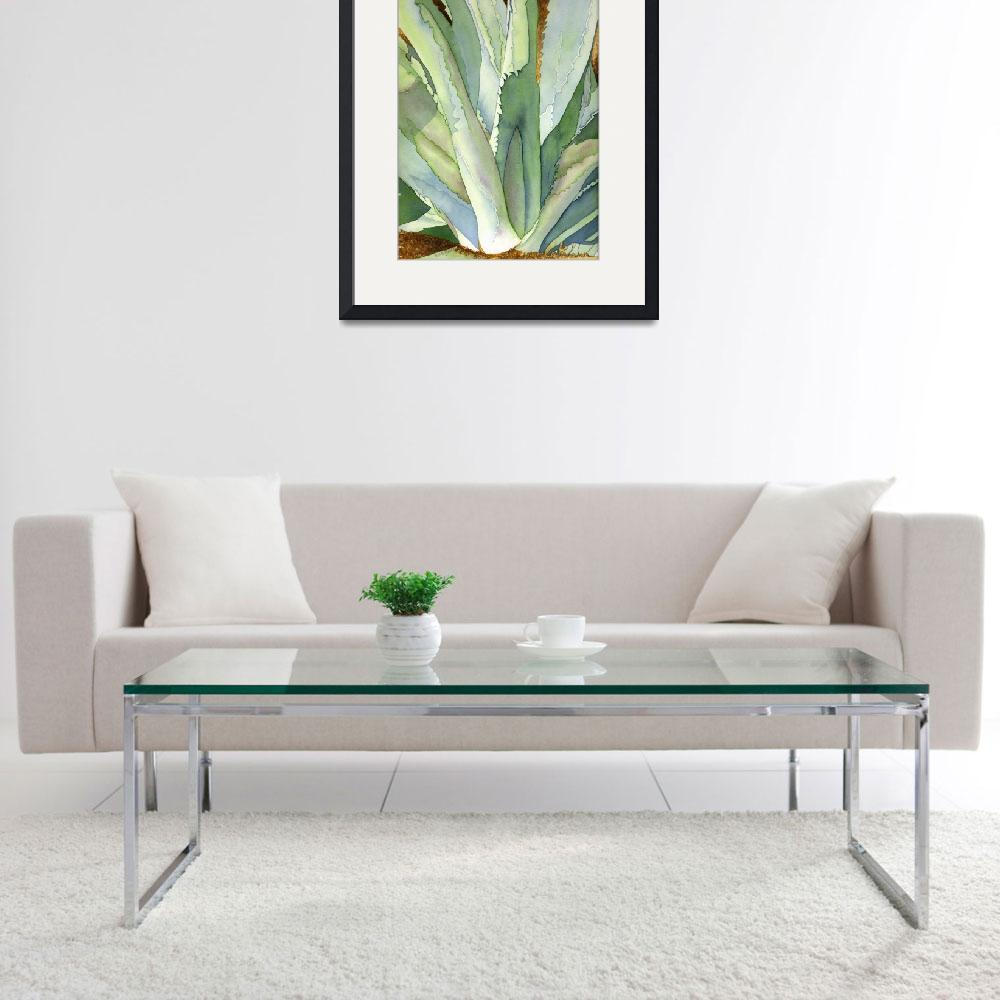 """Agave1&quot  (2006) by art4fish"