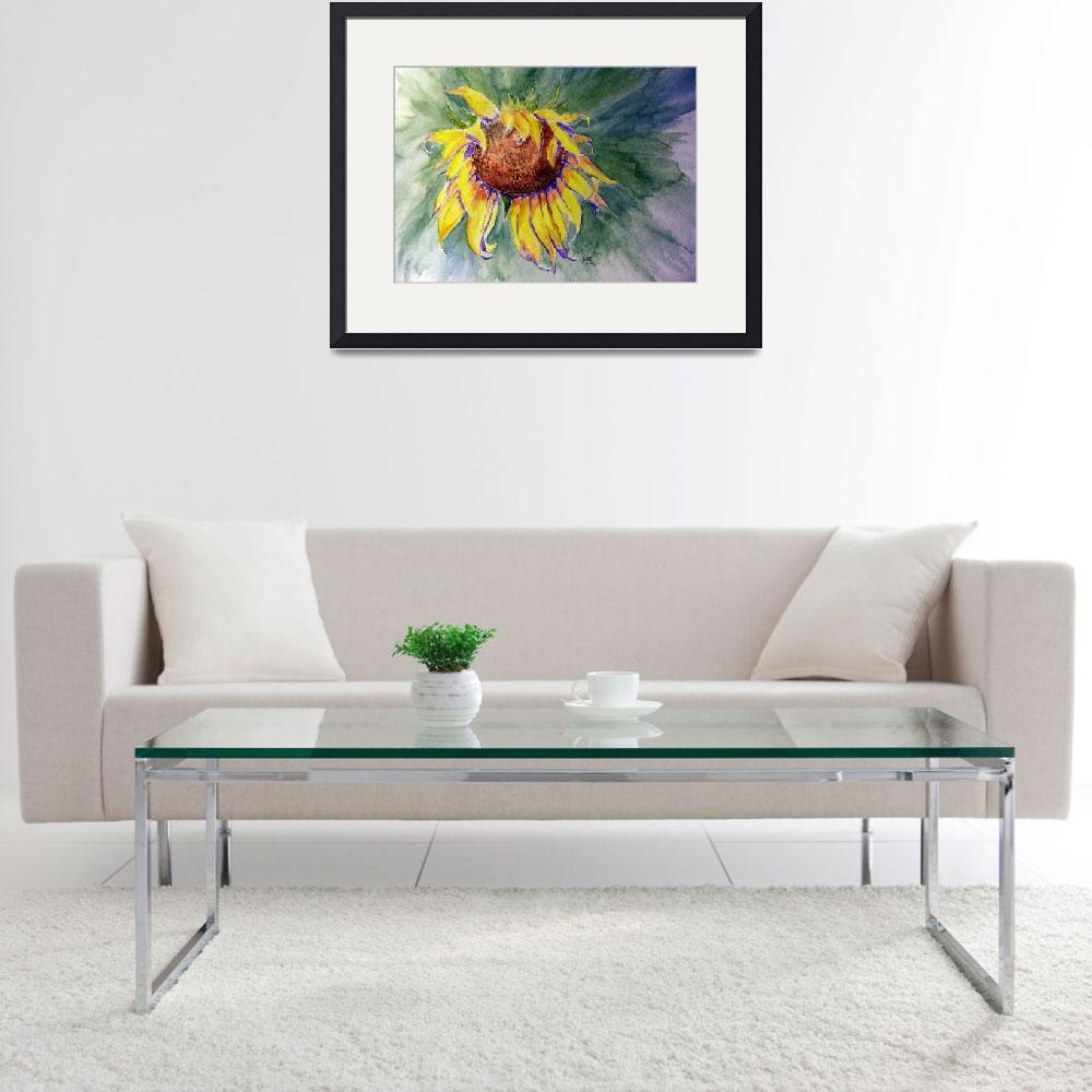 """Sunflower Splash&quot  (2012) by ARTistic_Anne"