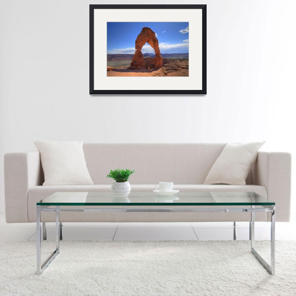 """Delicate Arch Sideview&quot  (2007) by scingram"