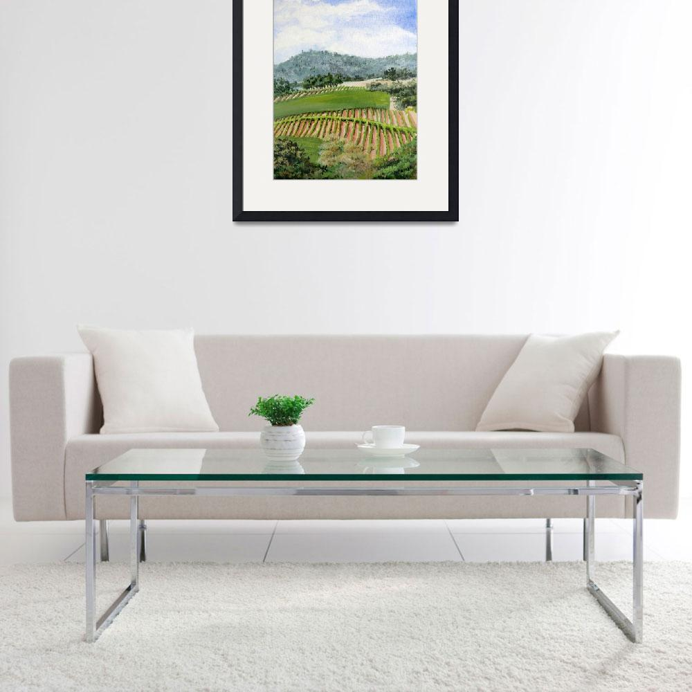 """Wine Country&quot  (2011) by marypalmer"