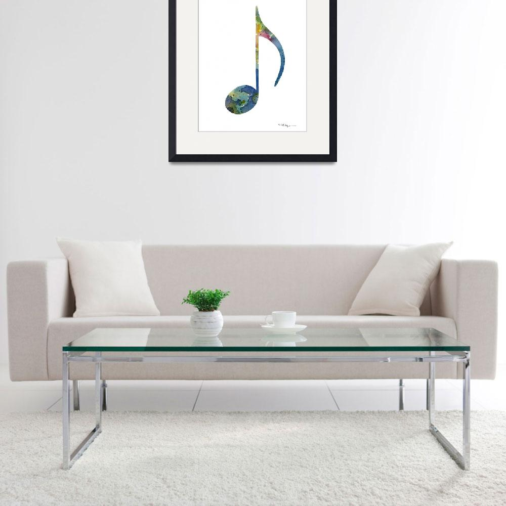 """Musical Note&quot  (2015) by k9artgallery"