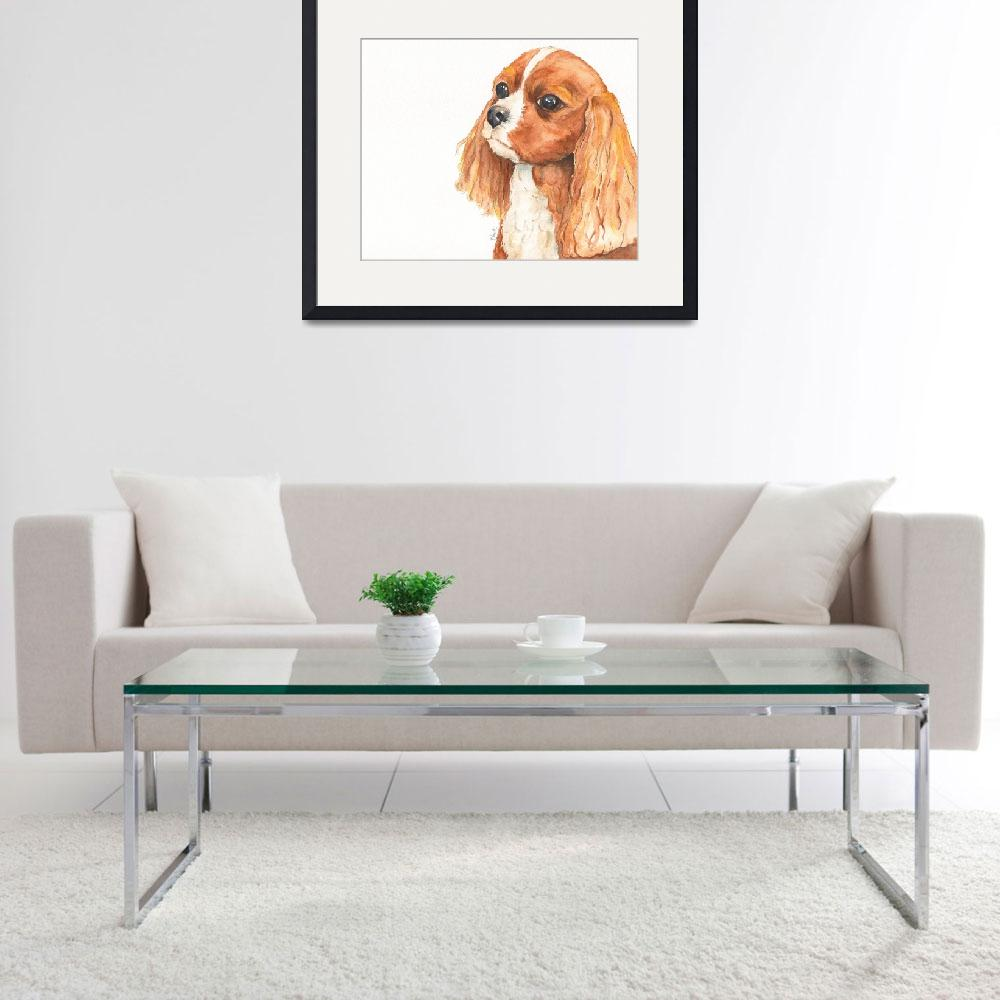"""Maddie the Affectionate Aristocrat Spaniel&quot  (2014) by Designomel"
