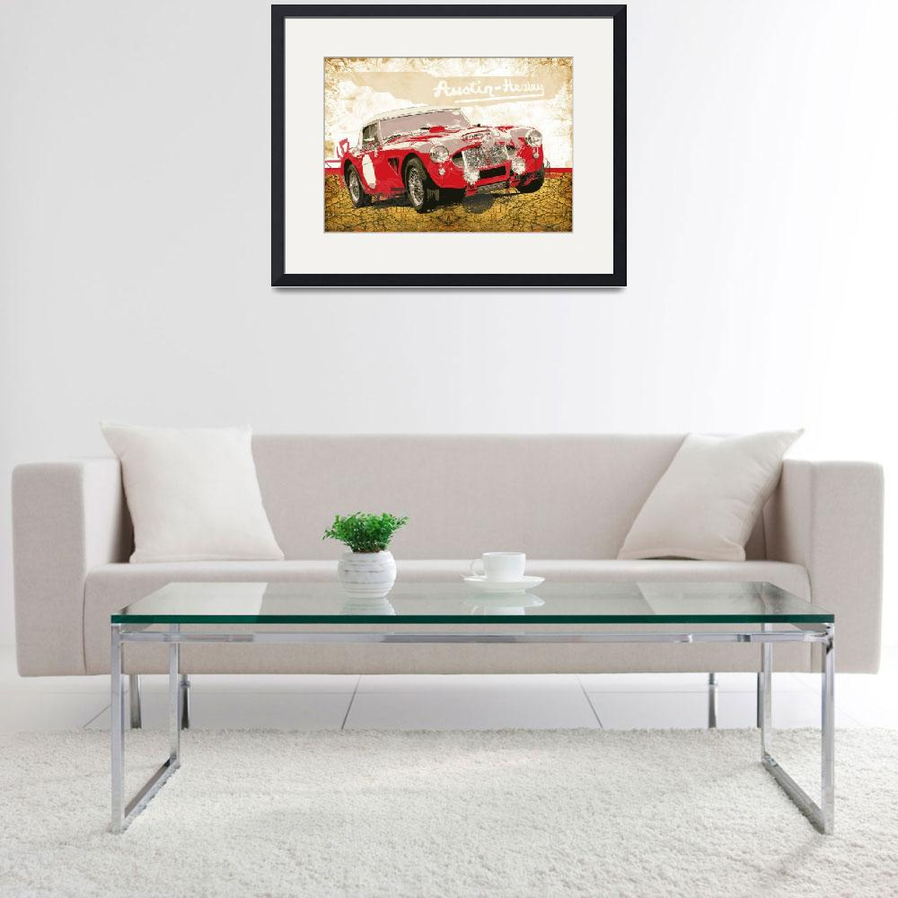 """Austin Healey 3000 Works&quot  (2012) by getshaped"