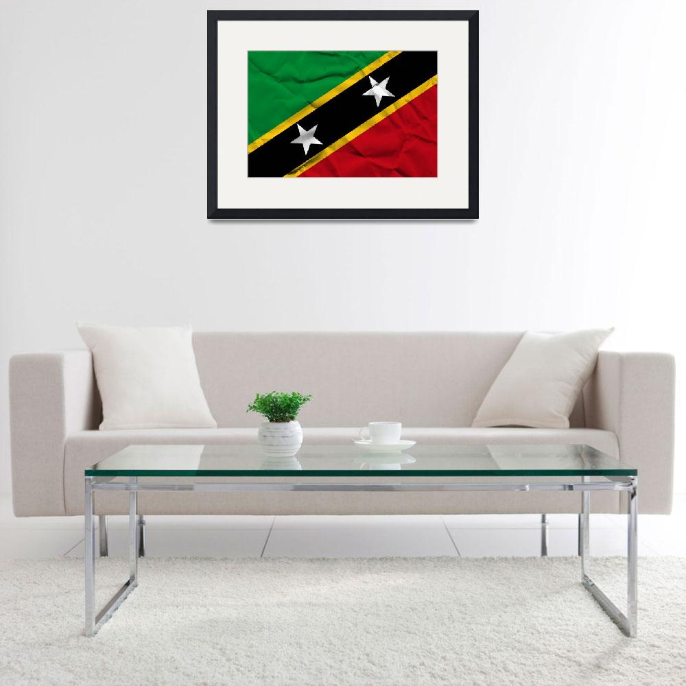 """Saint Kitts and Nevis-2&quot  (2014) by thegriffinpassant"