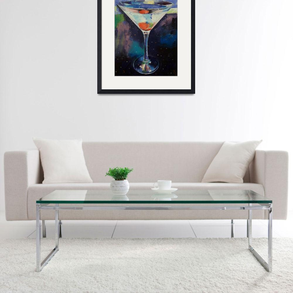 """Bombay Sapphire Martini&quot  by creese"