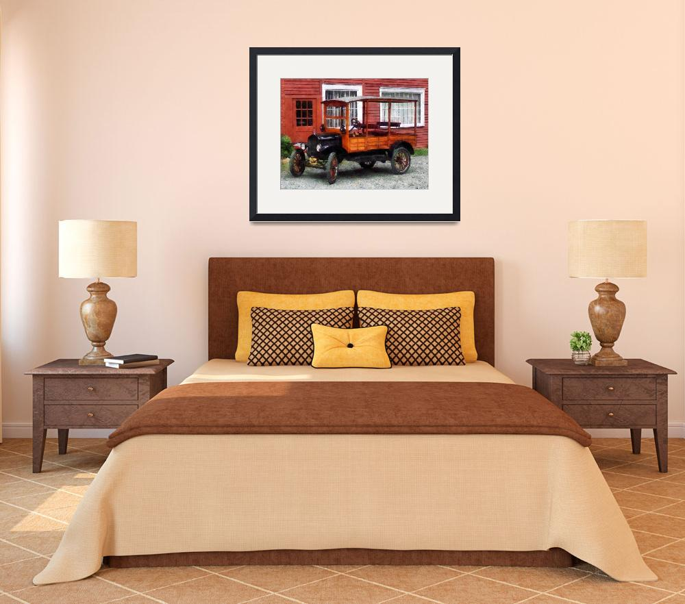 """Model T Station Wagon&quot  by susansartgallery"