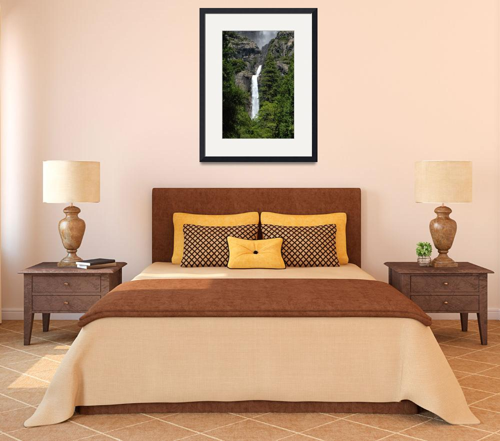 """Lower Yosemite Fall Vista&quot  (2008) by PadgettGallery"