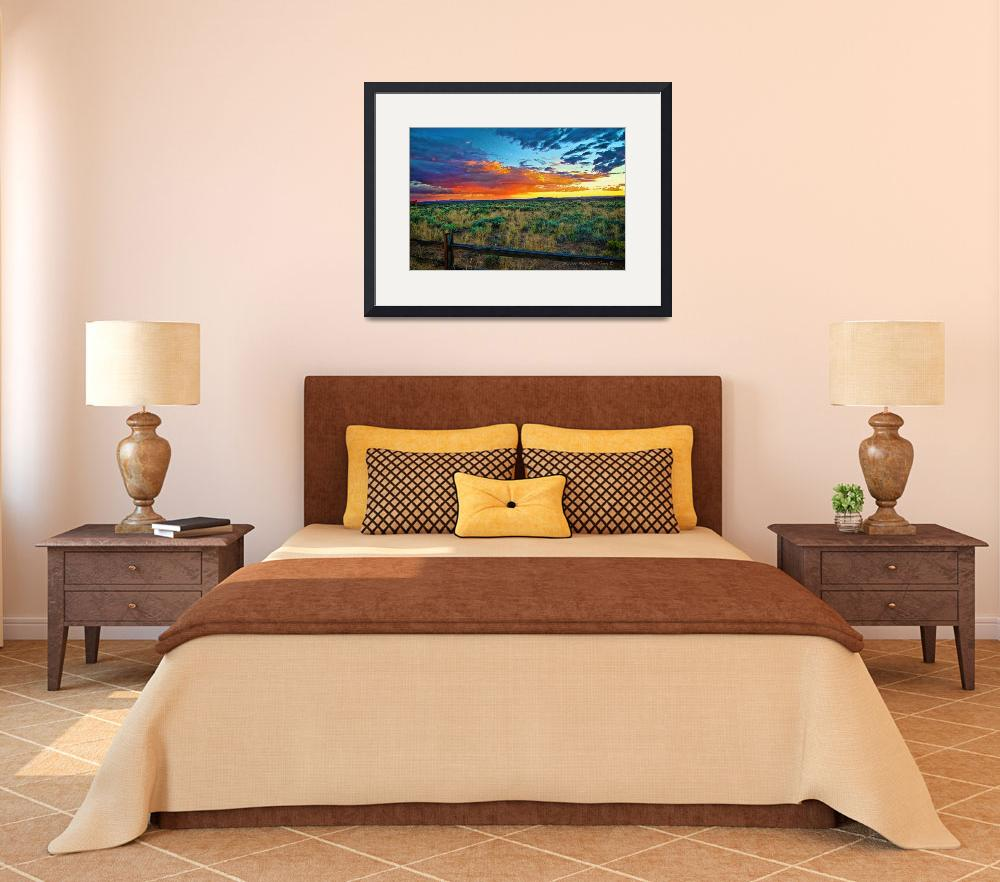 """Taos sunset IX&quot  (2012) by TaosFineArtPhotography"