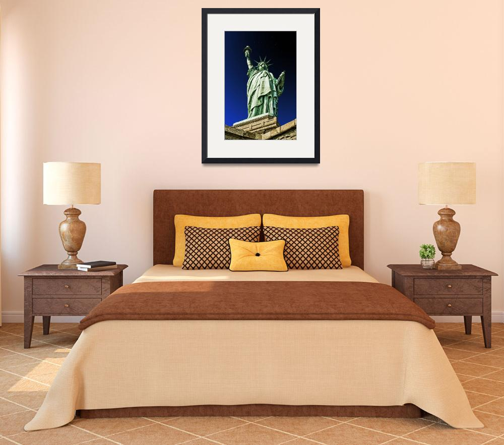 """Statue of Liberty Stands Mightily&quot  (2009) by New-Yorkled"