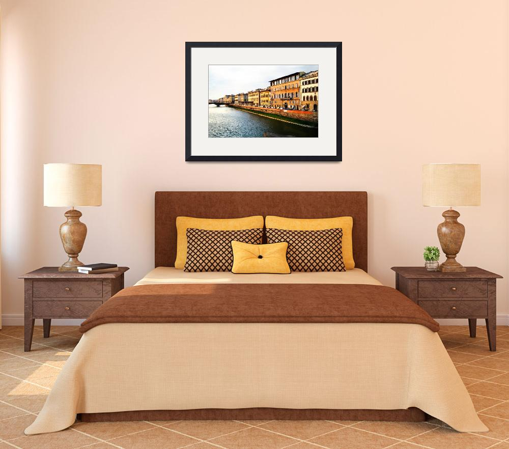 """Florence on the Arno II&quot  (2009) by knightvision"