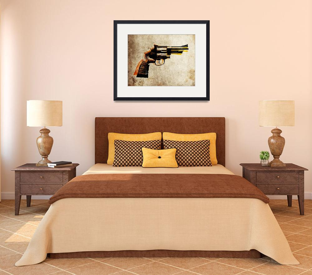 """Revolver&quot  (2010) by ModernArtPrints"