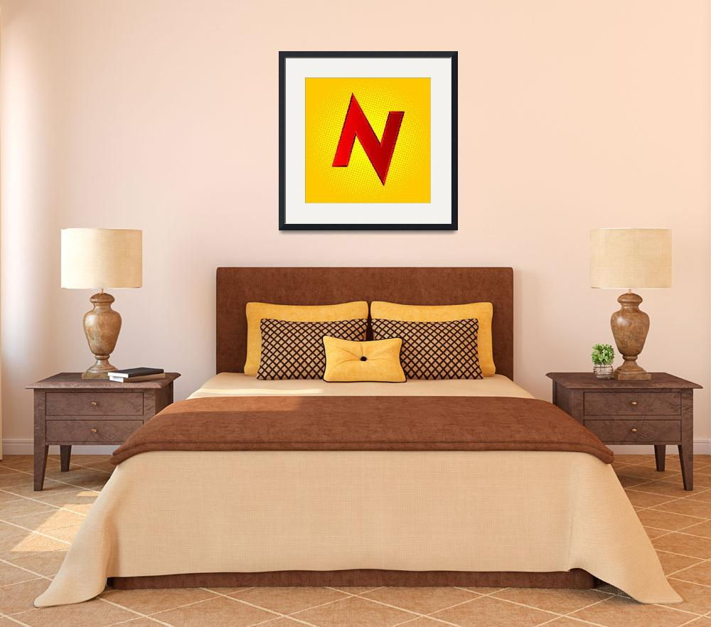 """N-TNT-old&quot  by LetterPopArt"