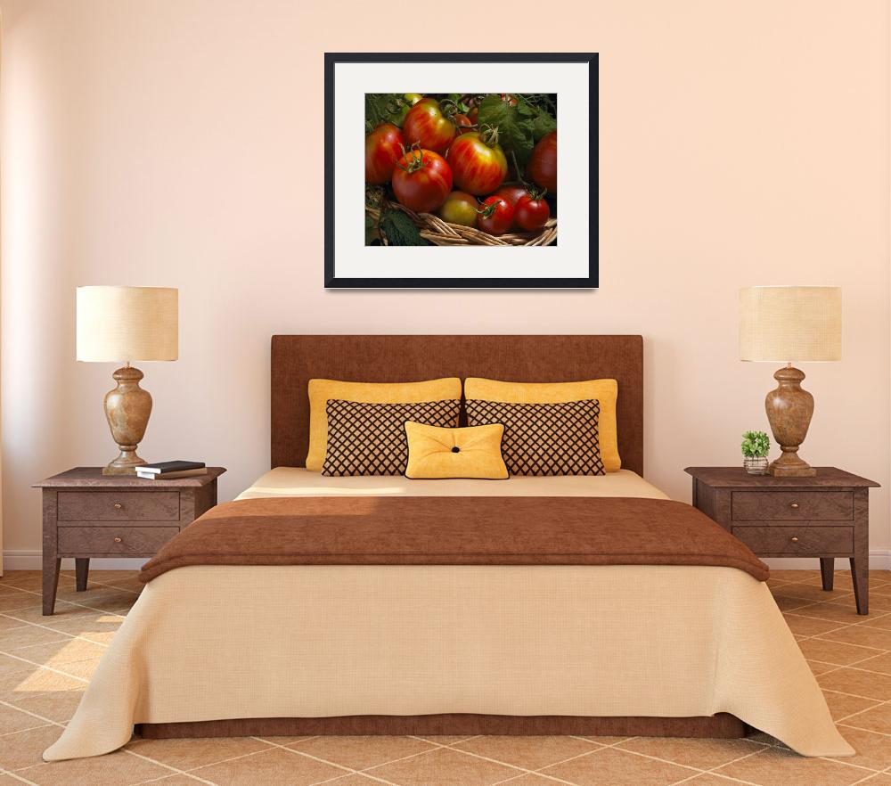 """Home Grown Tomatoes&quot  (2008) by bobbretell"