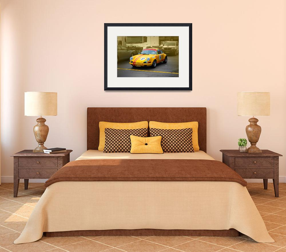 """Yellow Porsche 2&quot  (2010) by StuartRow"