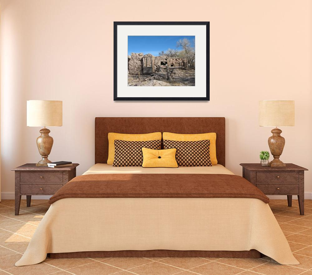 """adobe ruins Abiquiu, new mexico&quot  by giamarie"
