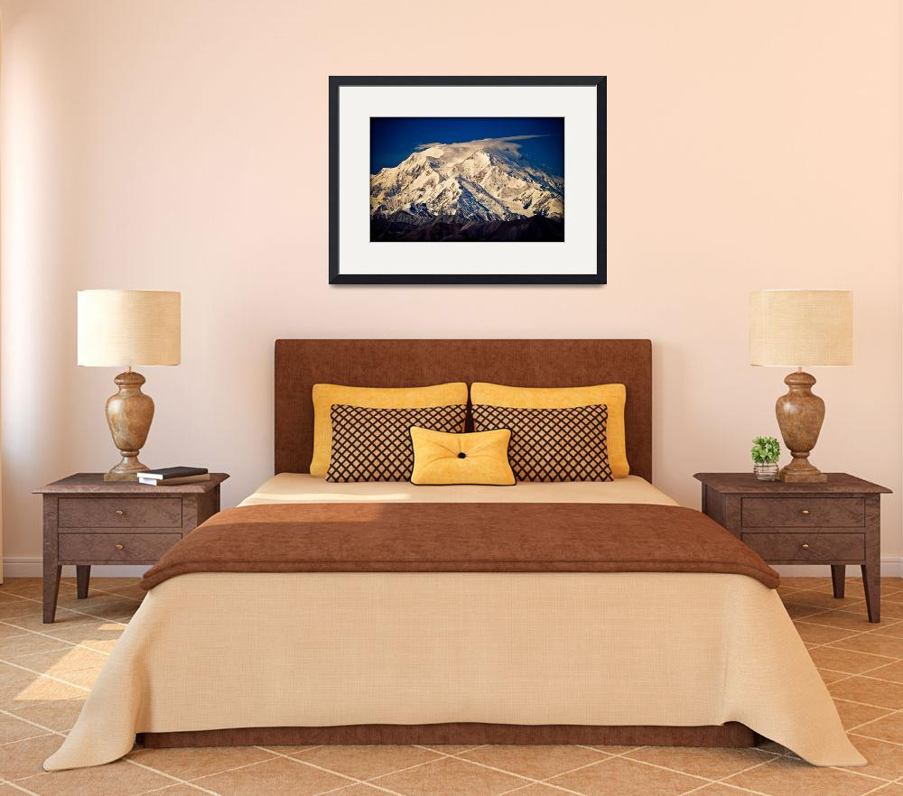 """Denali (Mount McKinley) from Eielson visitor centr&quot  (2003) by ExposedPlanet"