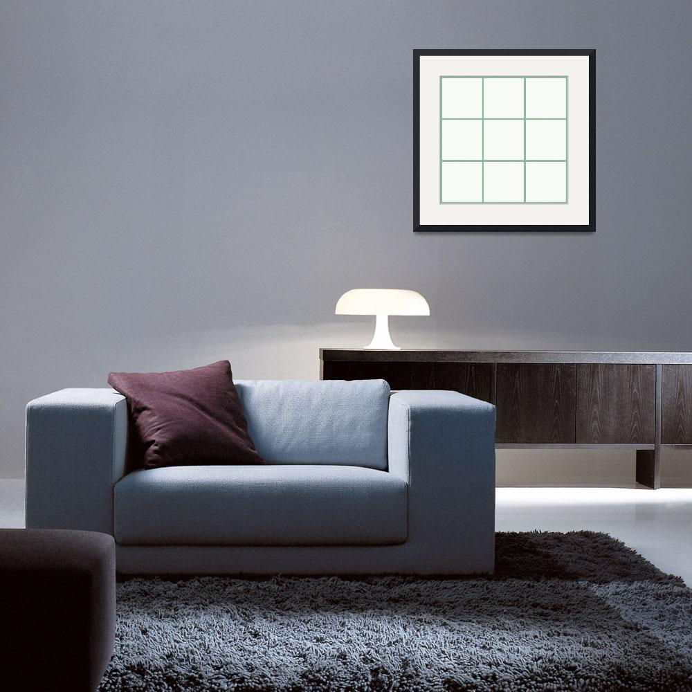 """White Window 021 Canvas Contemporary Modern&quot  (2010) by Ricardos"