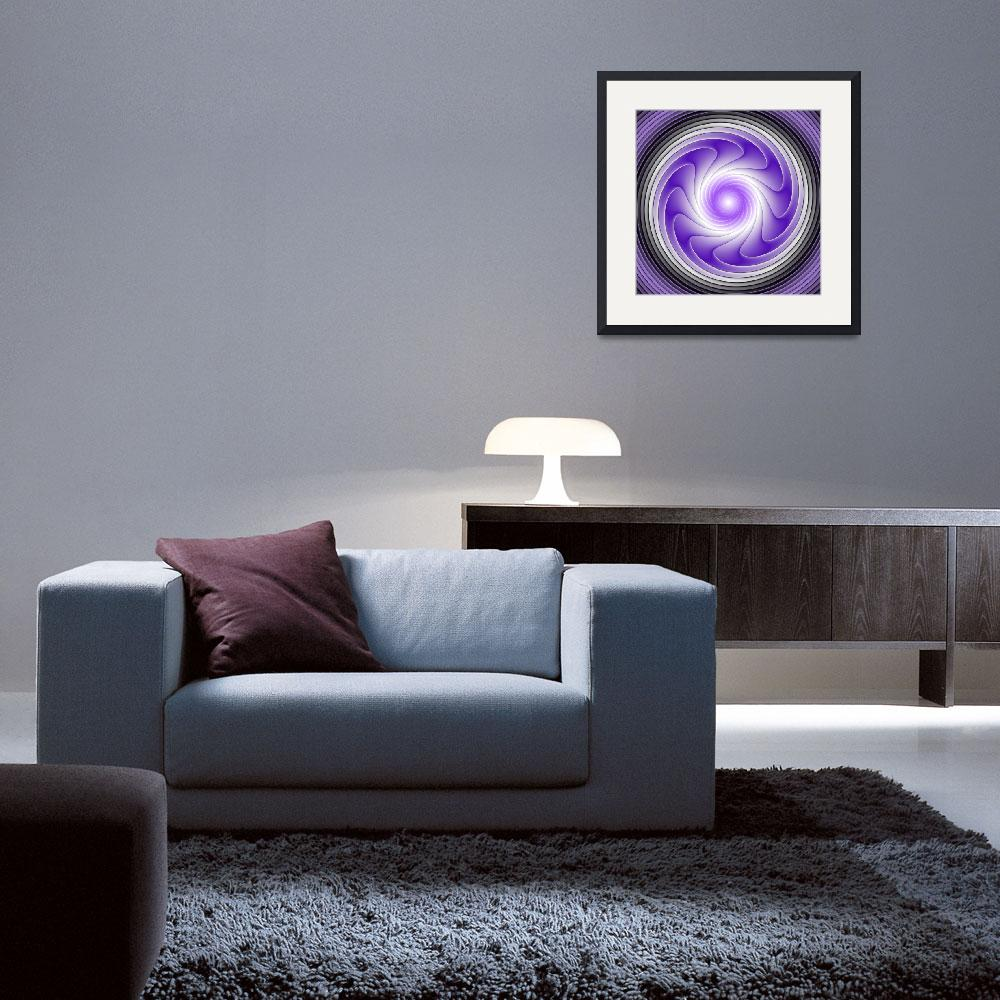 """Purple Energy&quot  (2012) by gabiw"