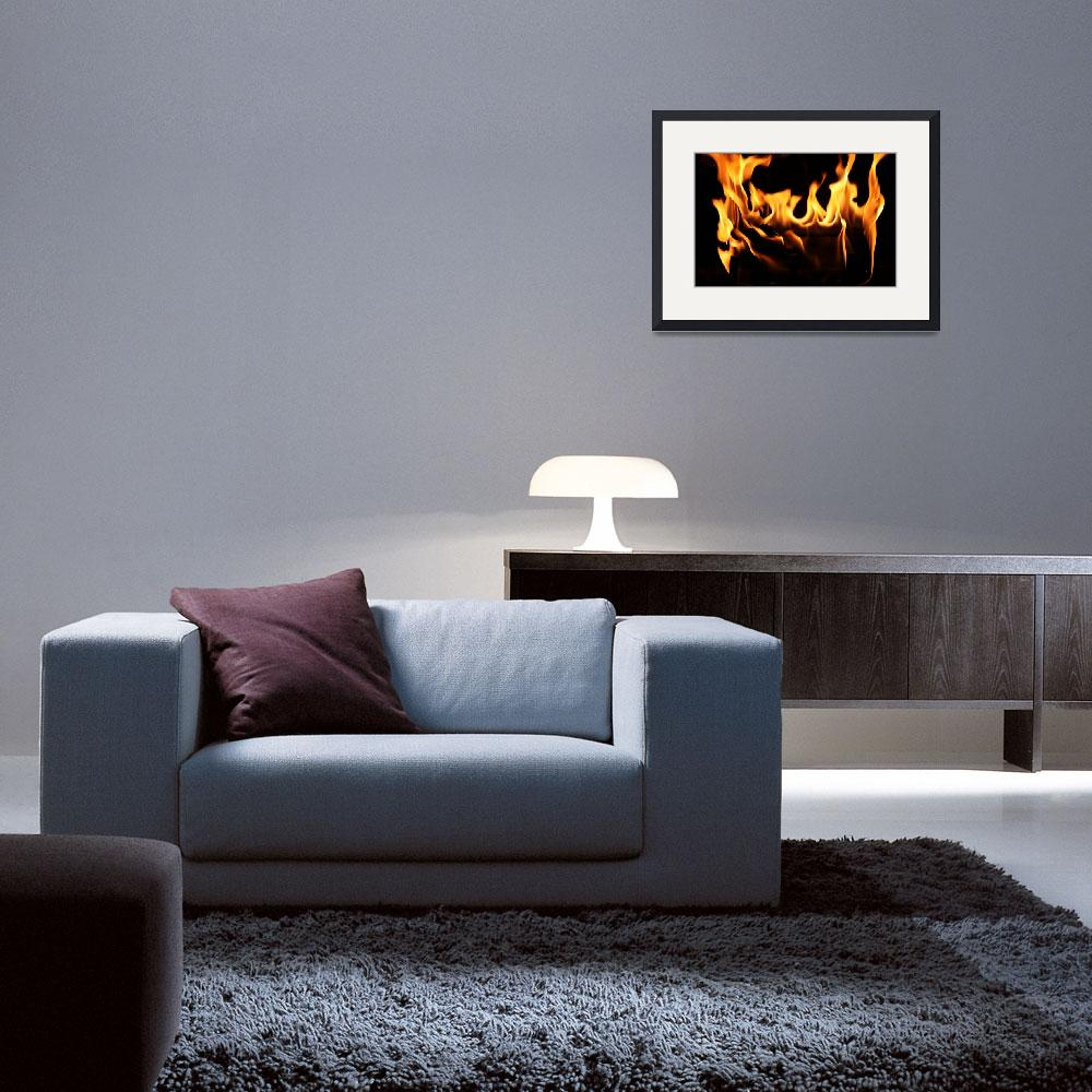 """Fireplace&quot  (2010) by edgabel"