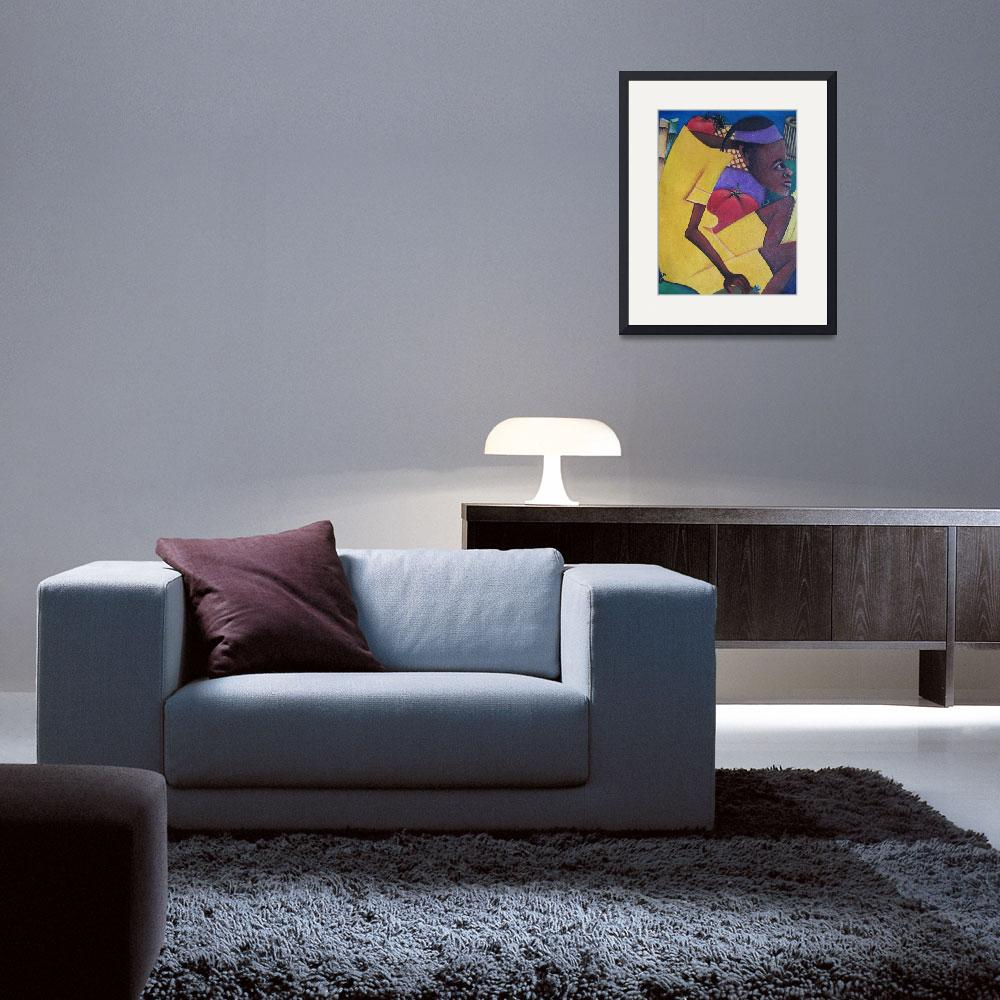"""Abstract Man - Pierre People 002&quot  by pierreartgallery"