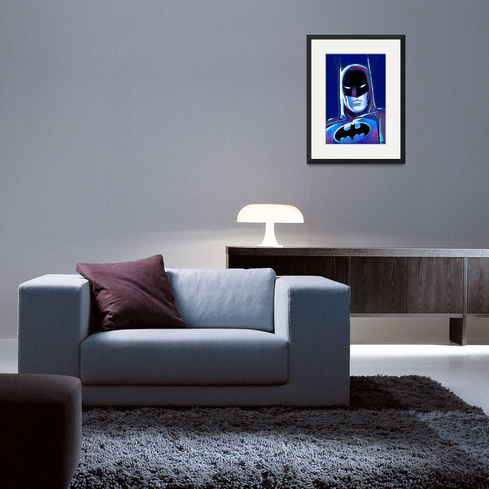 """Batman Pop 2&quot  (2015) by RubinoFineArt"