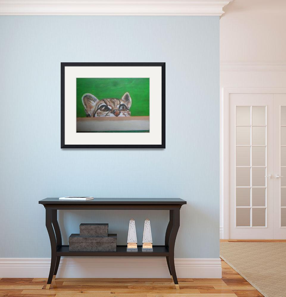 """wild cat&quot  (2007) by giftportraits"