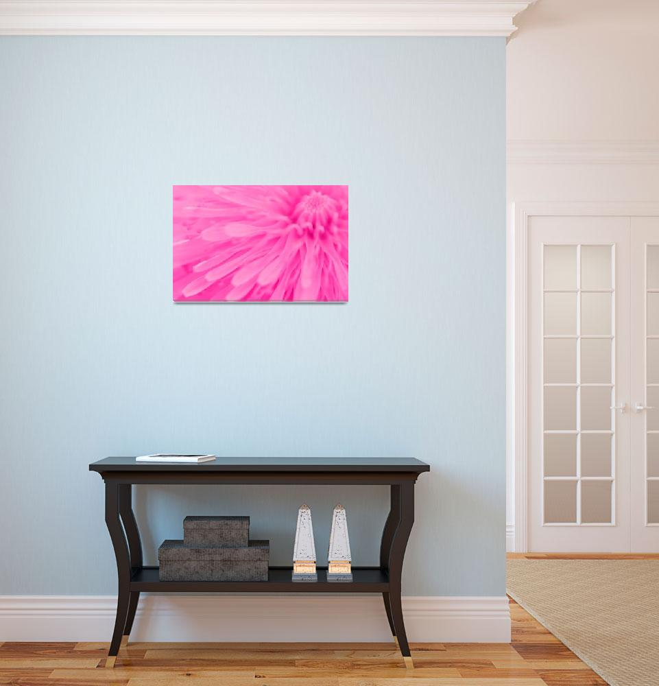 """Bright Pink Wall Art&quot  (2011) by NatalieKinnear"