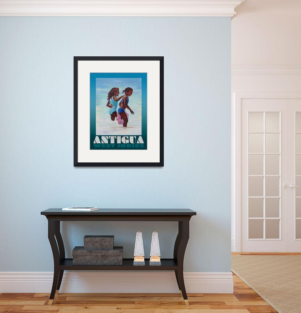 """Antigua Girls Poster&quot  (2008) by jpomeroy3"