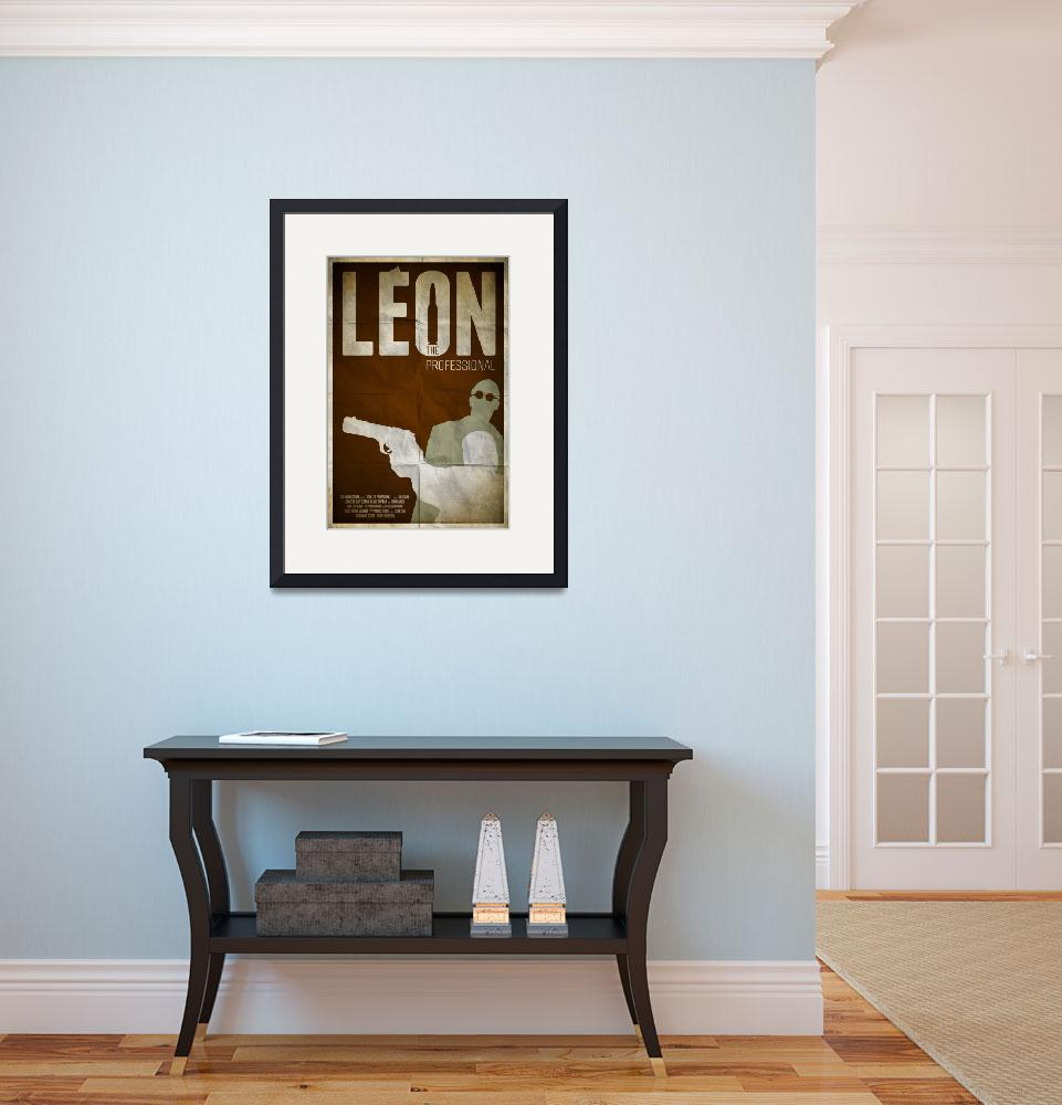 """Leon: The Professional&quot  (2013) by RyanBlackDesigns"