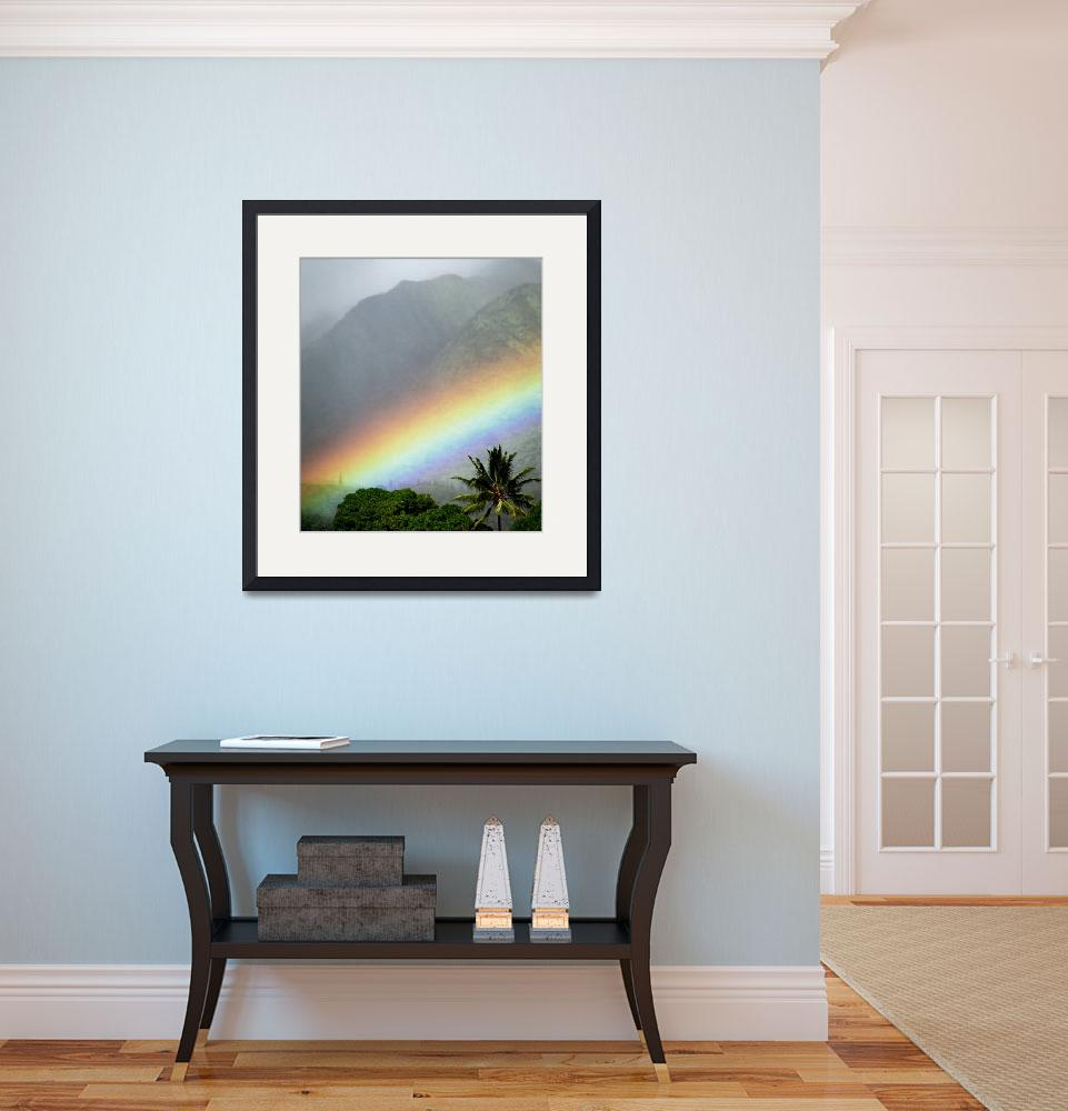 """Rainbow Valley&quot  (2008) by skystudiohawaii"