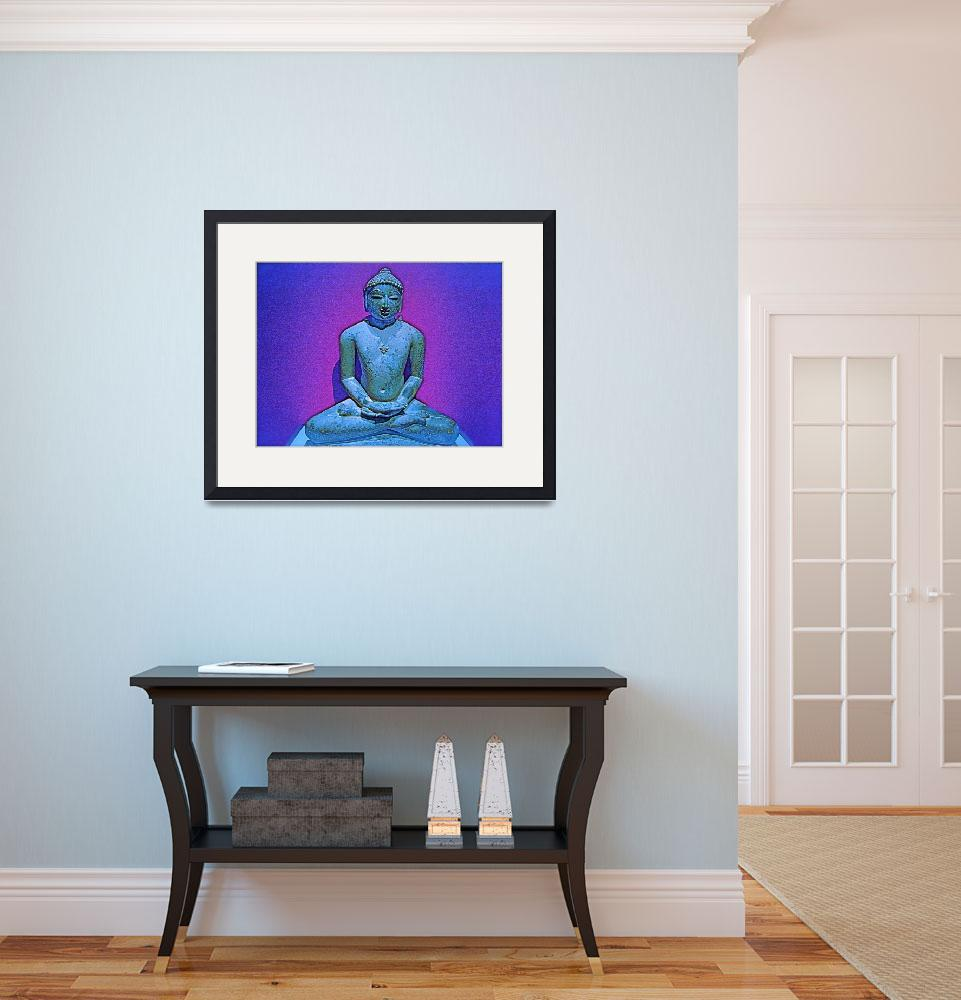 """Buddha Blue&quot  (2009) by robvena"