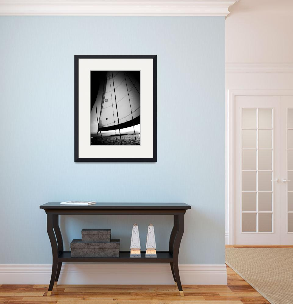 """Sailing 25&quot  (2010) by DaveGreen"