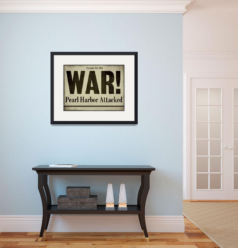 """Pearl Harbor&quot  by artlicensing"