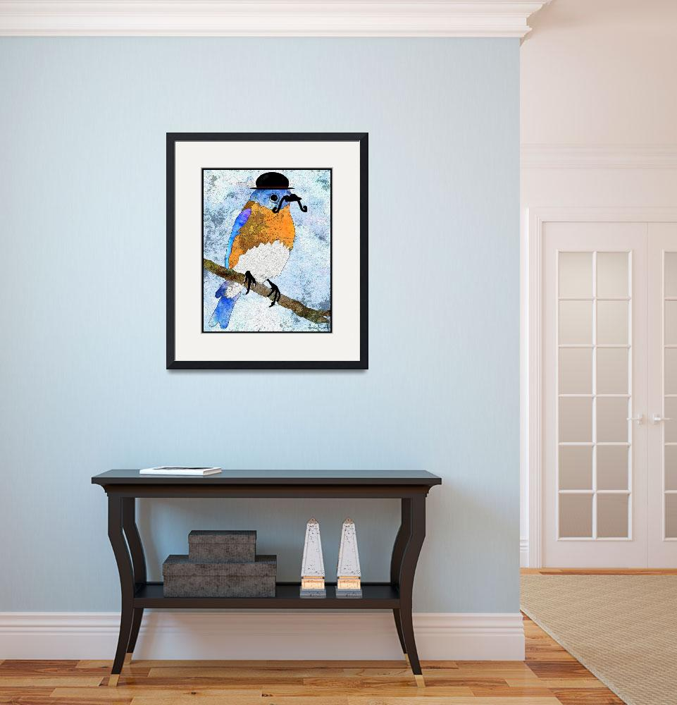 """Oliver Bluebird&quot  (2012) by denisebeverly"