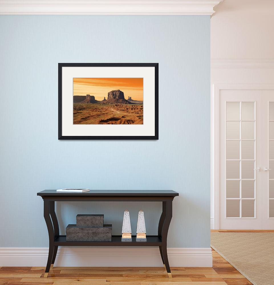 """Monument Valley Navajo Tribal Park&quot  (2008) by canbalci"