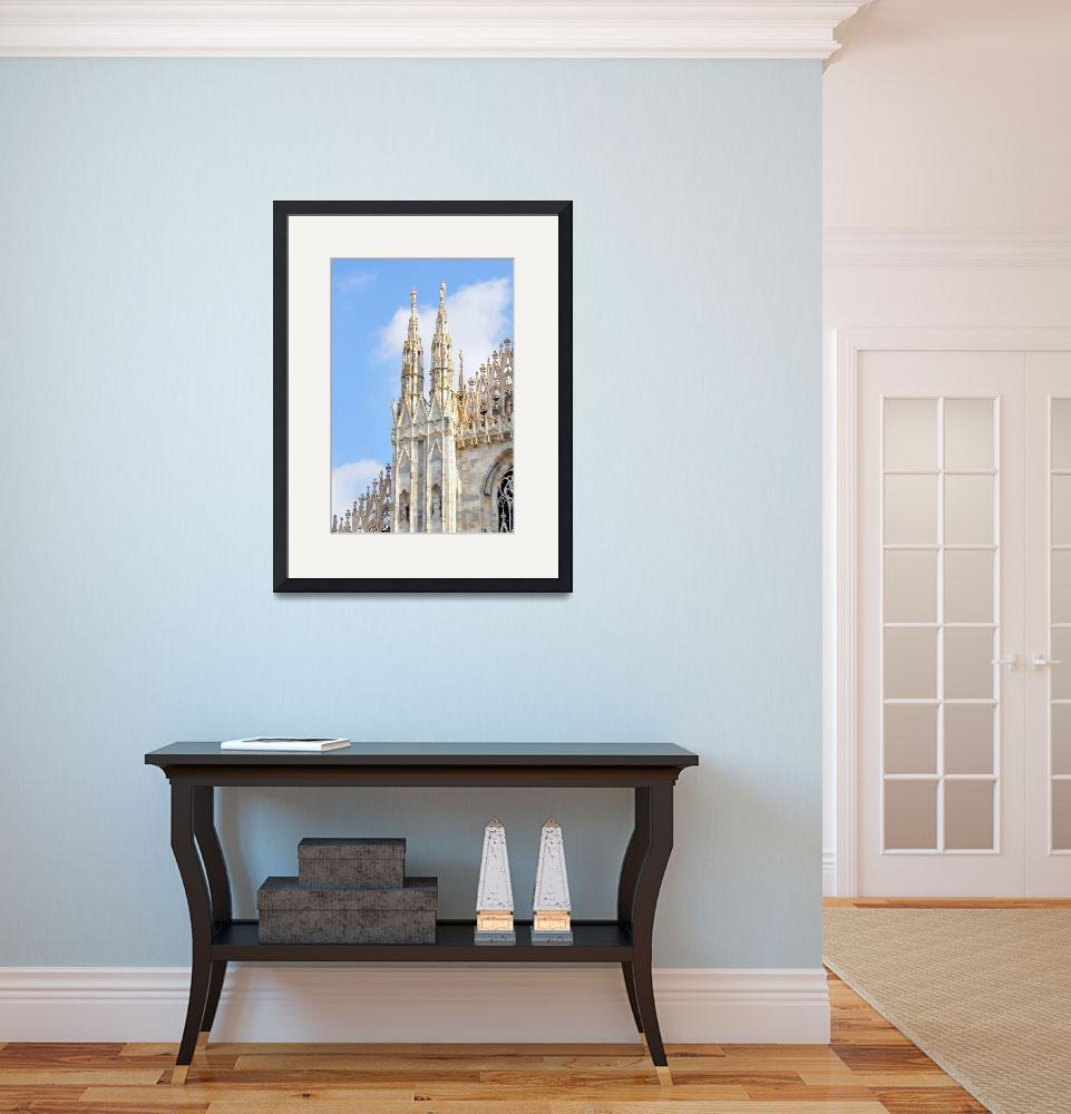 """Milan Cathedral&quot  (2010) by Barrywright"