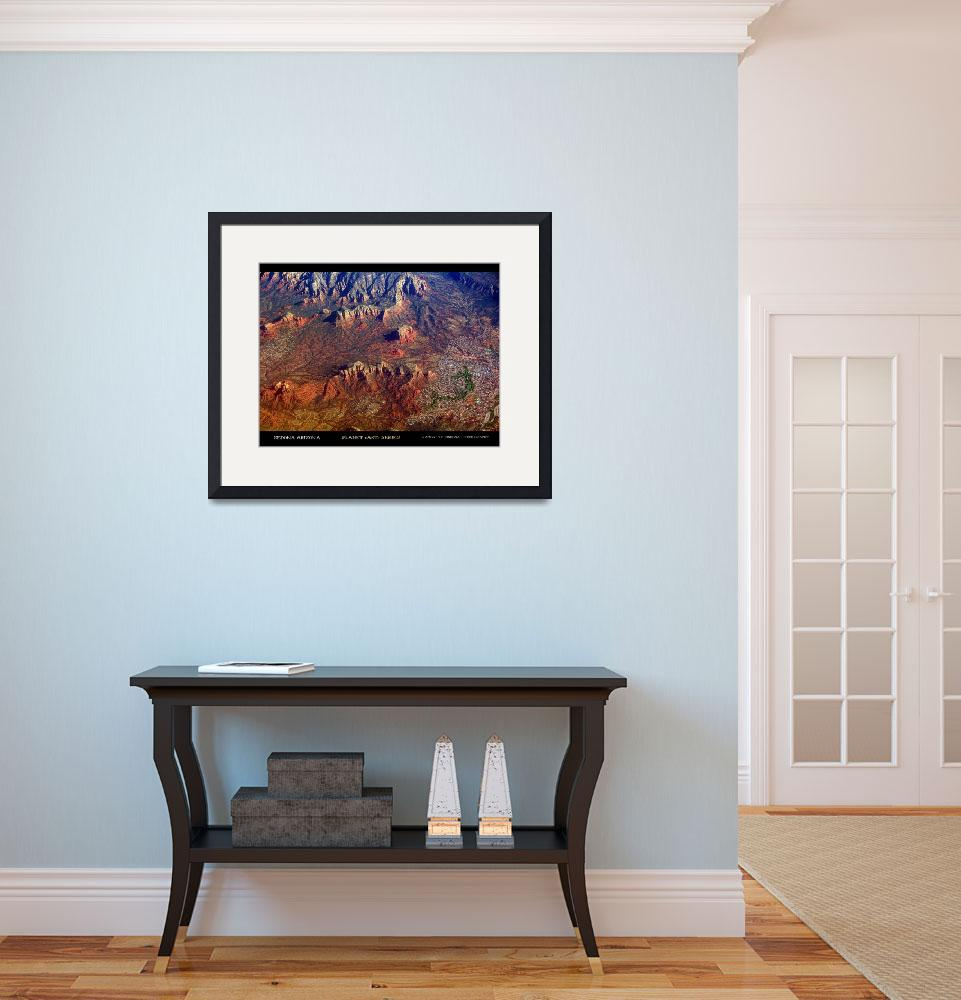 """Sedona Arizona Fine Art Poster&quot  (2012) by lightningman"