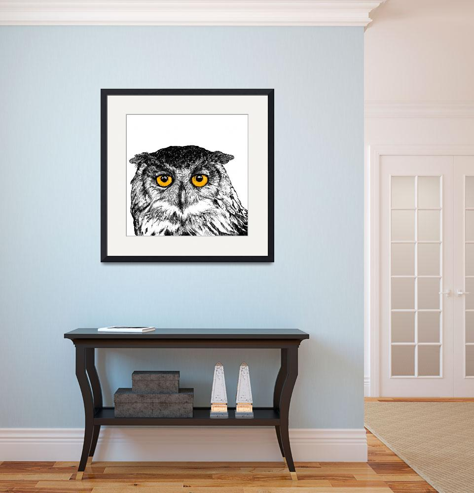 """owl&quot  (2013) by aszna"
