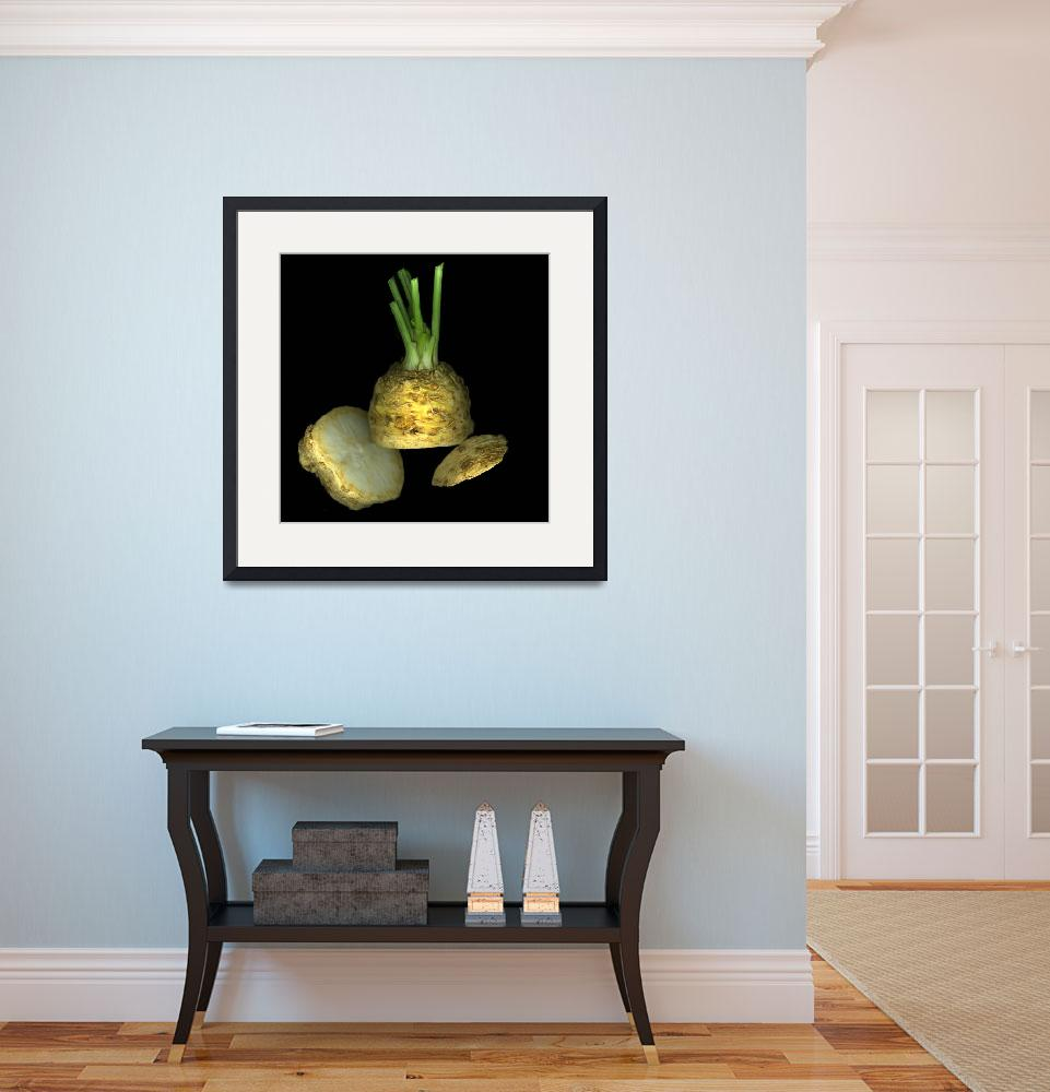 """Celery Root&quot  (2008) by CSlanecPhoto"