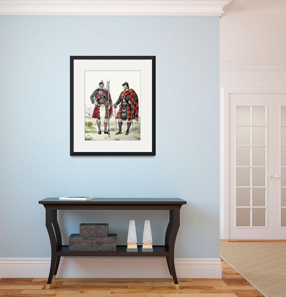 """Grant & Fraser; Scottish Highlanders (MacLeay)&quot  by DezineZone"