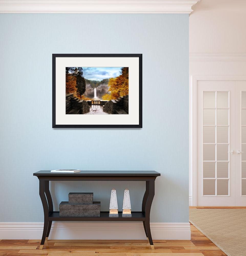"""Taughannock Falls&quot  (2010) by JessicaJenney"