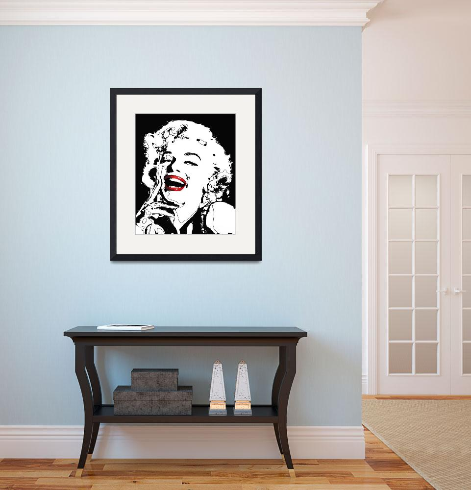 """Marilyn Monroe&quot  (2009) by rabi_khan"