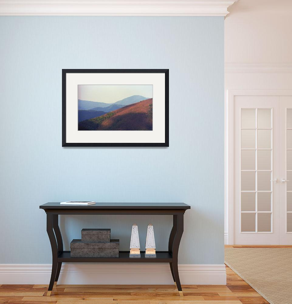 """Blue Ridge Mountains, Virginia&quot  (2008) by Ffooter"